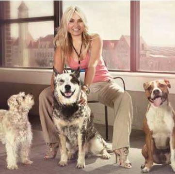 kath and dogs